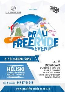 locandina prali freeride event